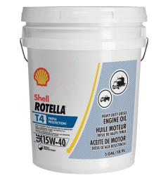 Shell Rotella T4 Triple Protection 15W40 5 Gallon - 550045128